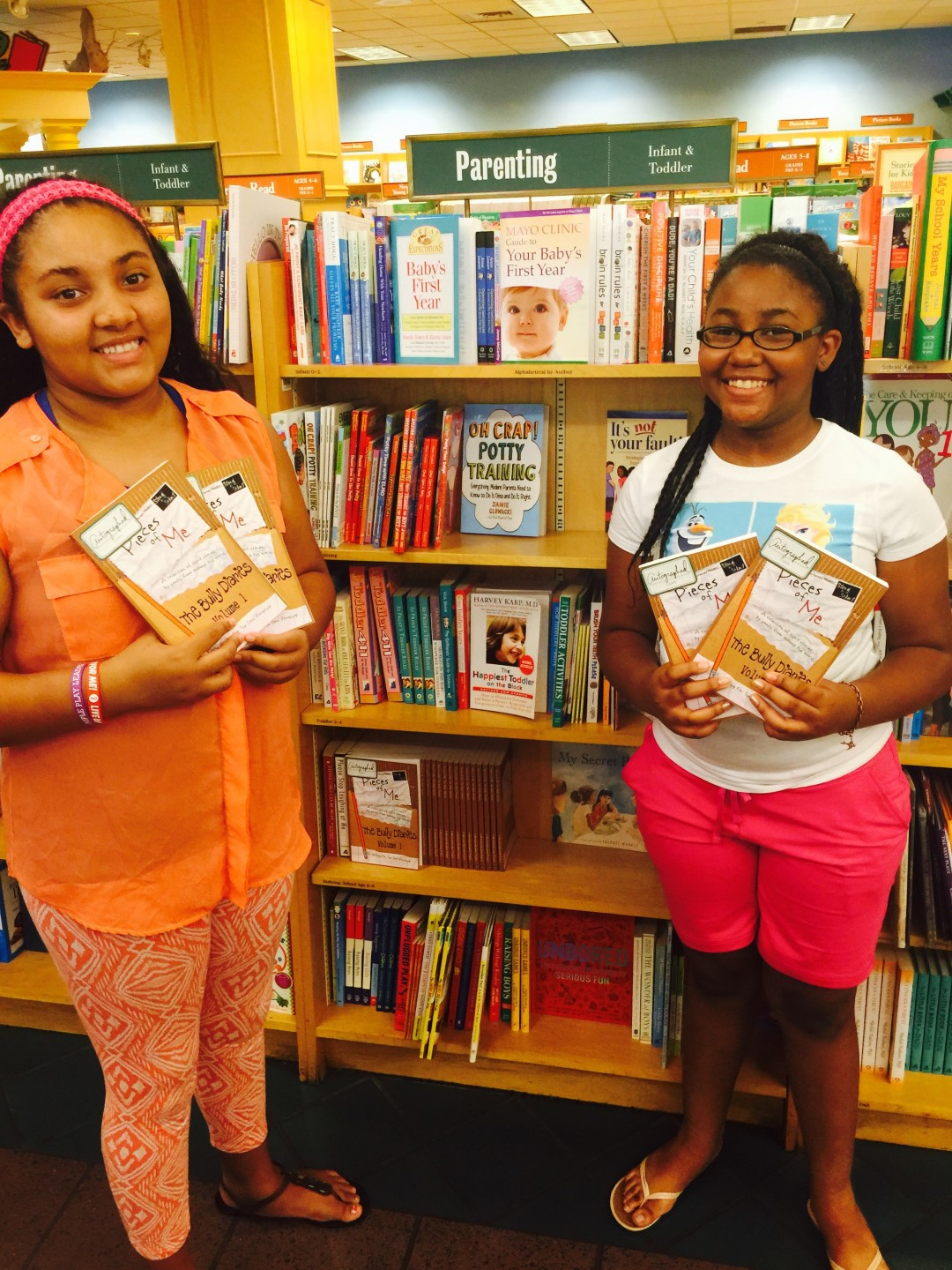 The Bully Diaries at B&N on the Plaza