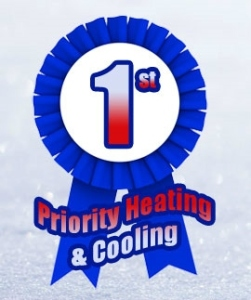 1st Priority Heating and Cooling Logo